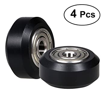 UKCOCO Impresora 3D Pequeña rueda redonda de polea de ...