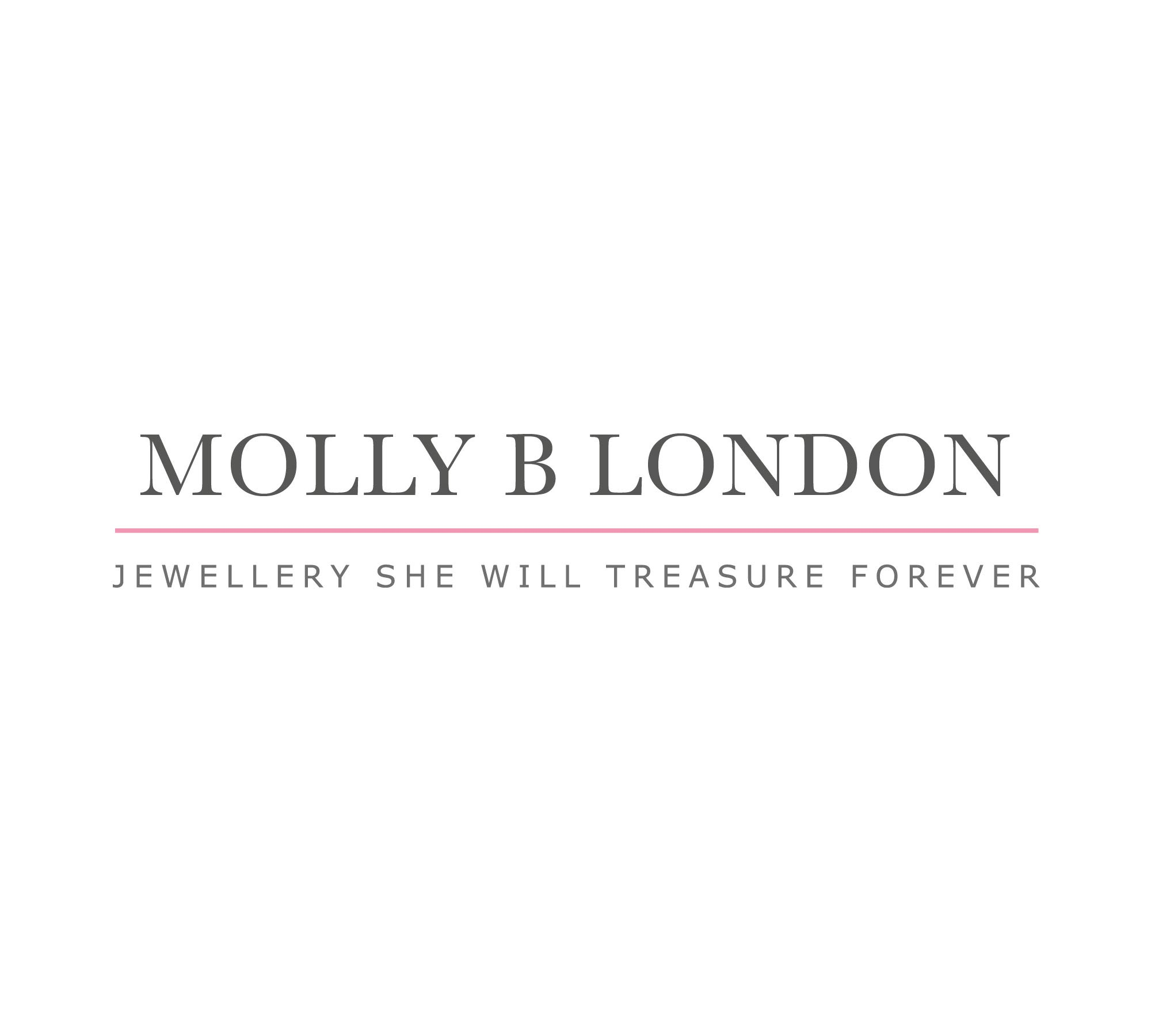 Molly B London | Personalized 925 Sterling Silver Baby's April Diamond Birthstone Baptism Bangle by Molly B London (Image #8)