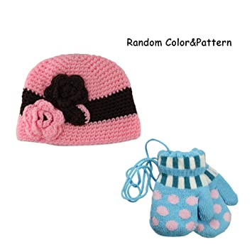 2d86e9ae1f9 Sealive Baby Cap Handmade Knit Crochet Flowers Hat Cap Toddler Girl Beanie  Hat Cap