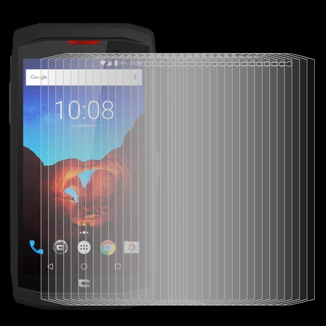 No Retail Package Lihuoxiu Phone Screen Protectors 100 PCS for Crosscall Trekker X3 0.3mm Tempered Glass Film