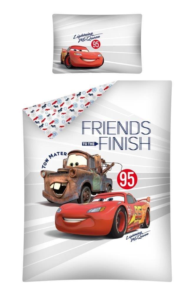 Parure de lit pour bébé Disney Cars 100 x 135 40 x 60 DETEXPOL