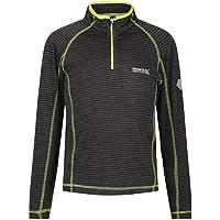 Regatta Berley Quick Dry Performance Wicking Zip Neck Fleece Camisetas/Polos/Camisetas Unisex niños