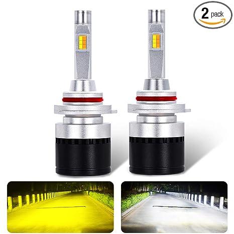 Amazon.com: Ai Qiliang H1 - Bombillas LED para faros ...