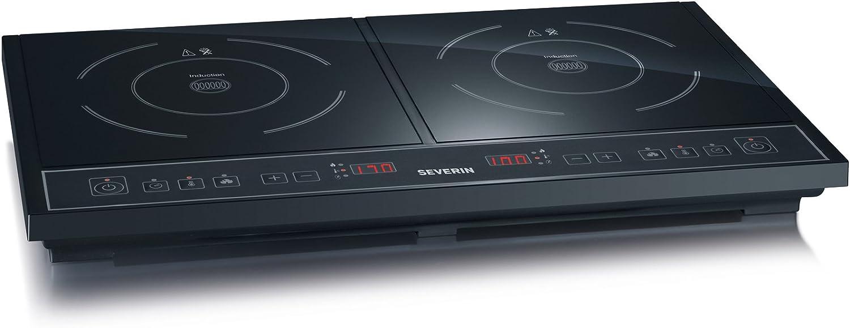 Severin DK 1030 - Cocina de inducción de doble placa, 3400 W