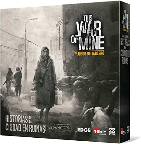 Edge Entertainment - Diarios de guerra: Historias de la ciudad en ruinas - Español (EEGKWM02): Amazon.es: Juguetes y juegos