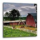 3dRose dpp_95827_1 Barn, Farm Country, Palouse, Colfax, Washington-Us48 Jre0005-Joe Restuccia Iii-Wall Clock, 10 by 10-Inch For Sale