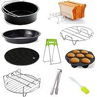 Boji Accessoires voor friteuse accessoires voor Airfryer heteluchtfriteuse, geschikt voor 4,5 l - 5,2 l, alle merken…