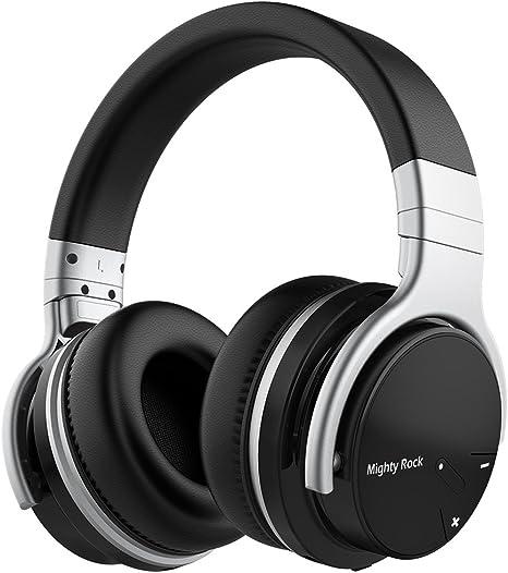 Auriculares inalámbricos Mighty Rock E7C, con micrófono, estéreo ...