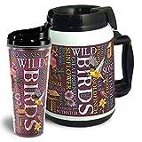 american expedition thermal mug - American Expedition Wild Birds Tumbler/Thermal Mug Set