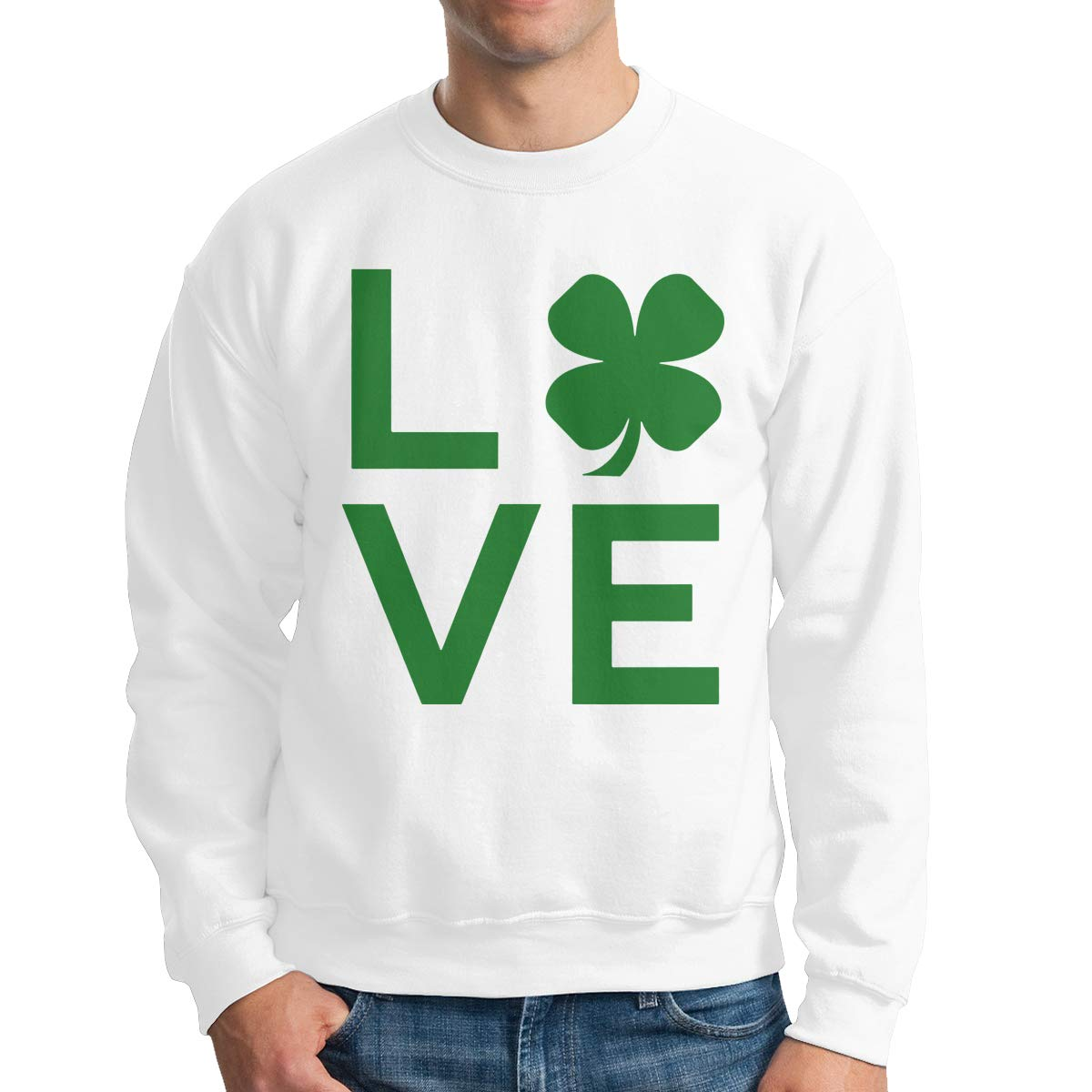 I Love St Patrick S Day Adult S Casual Sweater T Shirts