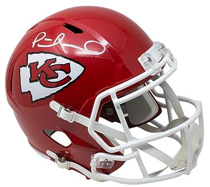 694e7104fda Patrick Mahomes Signed Kansas City Chiefs Full Size Speed Replica Helmet JSA