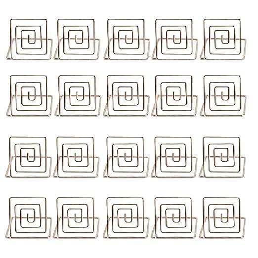 Factorys 20 piezas Número de mesa Soporte de tarjeta Soporte ...