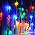 Martians 10 LED 8ft/2.5m Multi-Color Battery Operated Halloween Skull String Lights