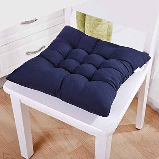 1PC Rectangle Chair Seat Cushion Dining Garden Office Kitchen Seat Sofa Back Pad