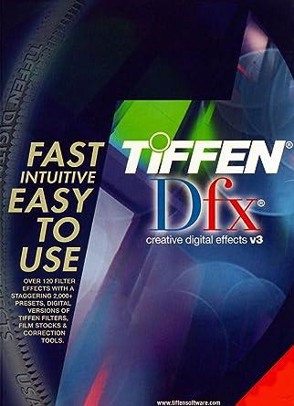 Amazon com: Tiffen DFX v3 Video Film Plug-in (Avid, After