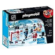 Amazon #LightningDeal 64% claimed: Playmobil 9017 NHL Advent Calendar Rivalry on The Pond Playset
