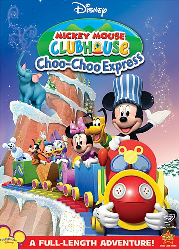 VHS : Disney Mickey Mouse Clubhouse: Choo-Choo Express