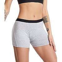 Menstrual Period Boy Short for Women Absorbent Period Boxer Briefs Leak Proof Underwear Postpartum Period Mid Waist…