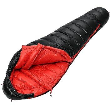 QFFL shuidai Saco de Dormir Momia/Saco de Dormir de plumón/Impermeable Ligero/