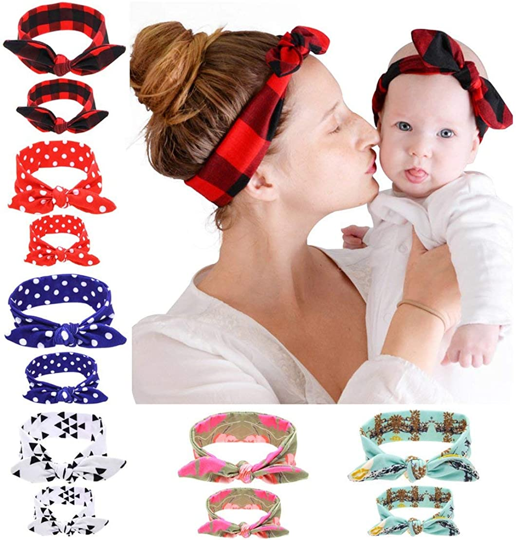 Mommy and me hair bows adult hair bows toddler hair bows baby hair bows floral hair bows Siahs hair bows Scrunchies