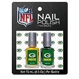 Green Bay Packers Nail Polish & Nail Decals Set