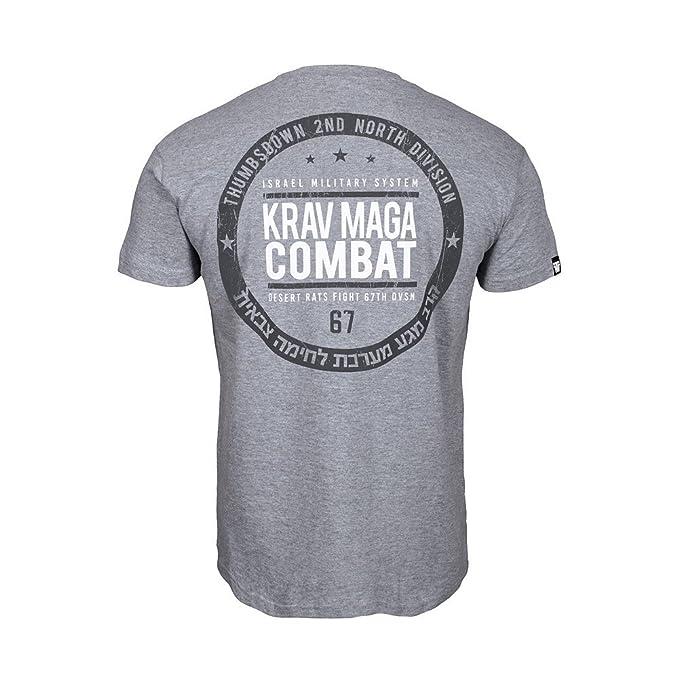 Thumbsdown Pulgares Down Krav Maga Combat Camiseta Israel Militar Sistema MMA. Gimnasio Entrenamiento. Marcial Artes Informal gL1jPpz