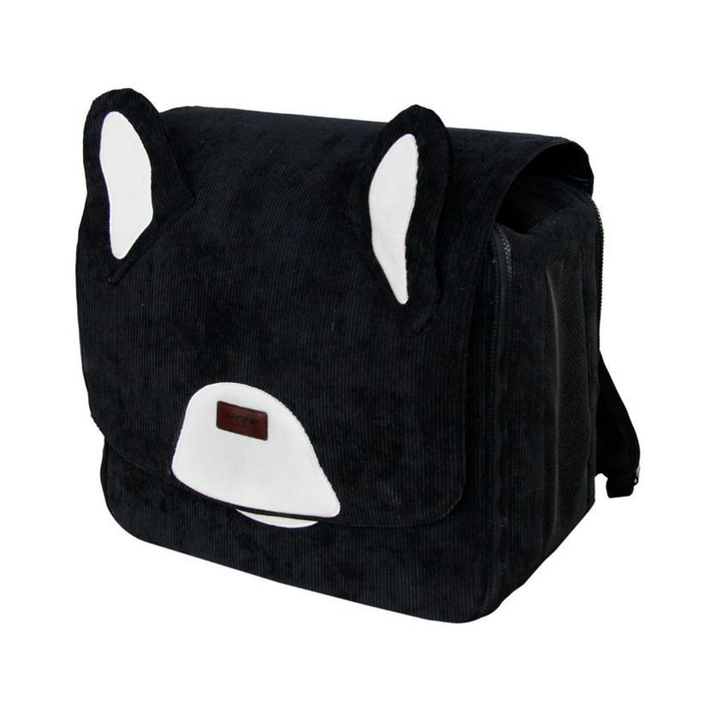 B Daeou Pet Backpack Polyester wear-Resistant Double Shoulder Breathable Large Space for 11kg Below