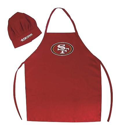 7f1acf50 PSG San Francisco 49ers Apron and Chef Hat Set