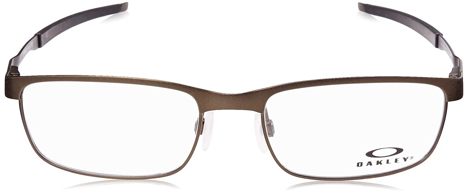 3acb8be9a5 Amazon.com  Oakley - Steel Plate (54) - Powder Pewter Frame Only  Clothing