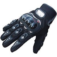Tuopuda Guantes Moto Verano Guantes Proteccion para Moto Bici Motocicleta Deporte Trabajando 1 pair (L)