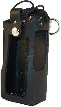 Boston Leather 5473RC-1 Black Motorola HT750 Radio Holster Elastic Strap
