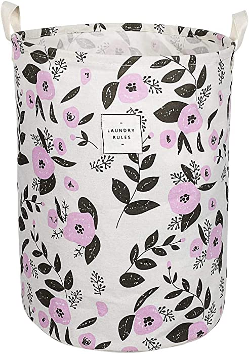 The Best Laundry Basket Floral