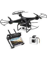 GoolRC T106 Drone con 2.0MP FPV Telecamera WiFi Altitude Hold 3D-Flip Droni modalità Senza Testa RTF RC Quadcopter 2.4G Telecomando Controller Smartphone