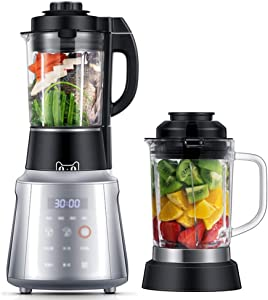 Professional Countertop Blender with 1500-Watt Base and Total Crushing Technology for Smoothies, Ice and Frozen Fruit