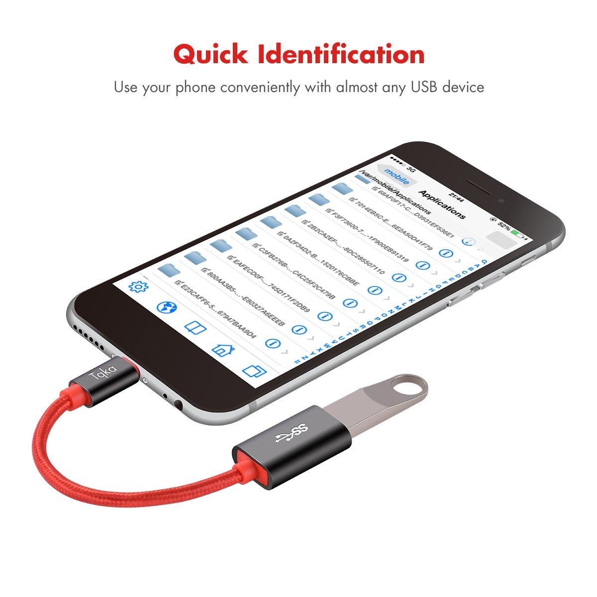 Tqka USB-C auf USB 3.0 OTG-Adapter, USB 3.0 Typ C: Amazon.de: Elektronik