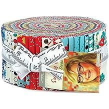 Sunday Drive Jelly Roll 40 2.5-inch Strips Moda Fabrics