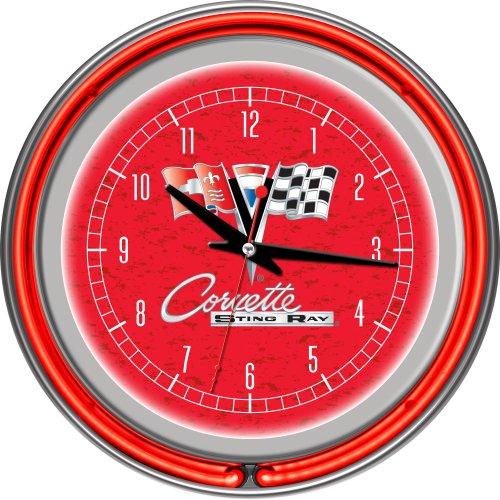 Clock Team Neon 14 - Chevrolet Corvette