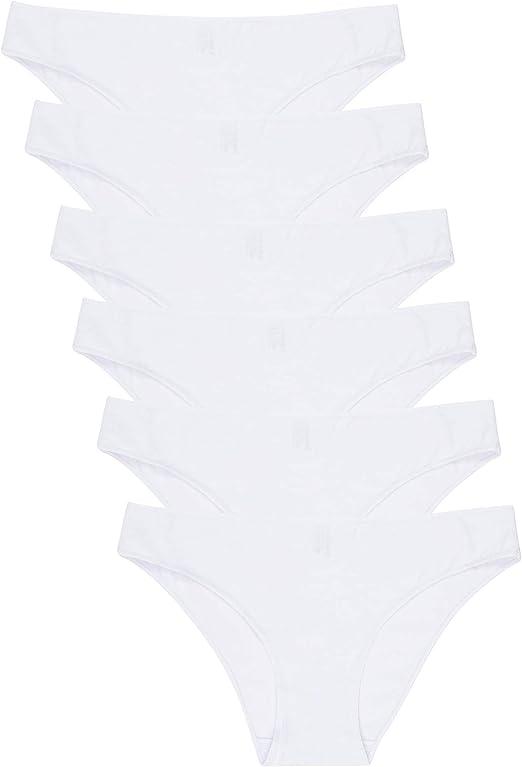 Pack de 2 pares de calzoncillos para mujer 100/% algod/ón Janira