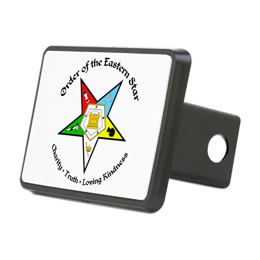 CafePress - Eastern Star - Trailer Hitch Cover, Truck Receiver Hitch Plug Insert by CafePress
