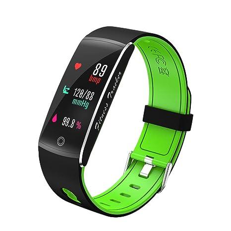 9c135df5280c JINSHENG Pantalla en Color de Brazalete Smart Fitness Sport Tracker  Impermeable IP68 Control Remoto Smartband para