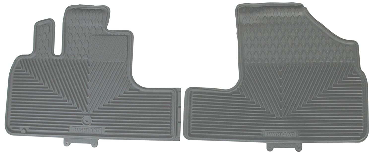 Highland 4501900 Gray All-Weather Front Seat Floor Mat