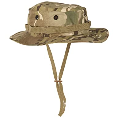 Teesar Tactical Army GI Boonie Jungle Bush Hat Fishing Cap MultiCam Camo  54-55cm ( 0132eed8f11