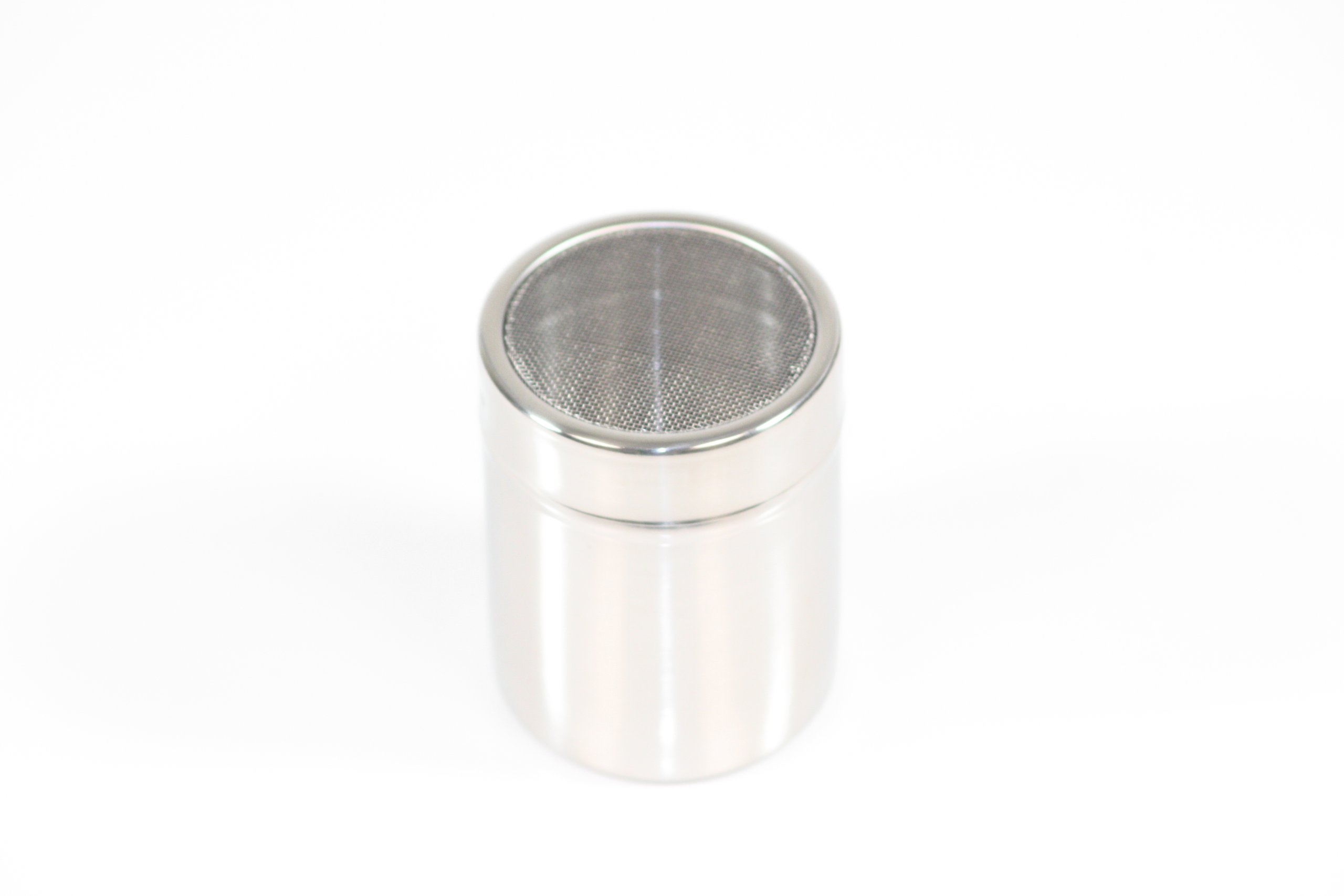 Paderno World Cuisine 1/4 Quart Stainless-steel Sugar Dredger with a Mesh Lid by Paderno World Cuisine