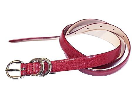 Dolce   Gabbana - Ceinture - Femme Rouge rouge 105 cm  Amazon.fr ... 231746d670f