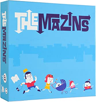 Helvetiq The MAZINS, Juego de Mesa para Toda la Familia, Dos ...