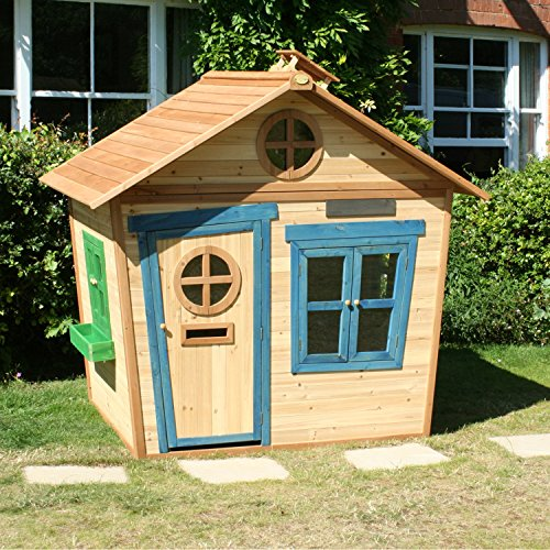 Big Game Hunters 6 X 5 Redwood Mansion Wooden Playhouse Painted