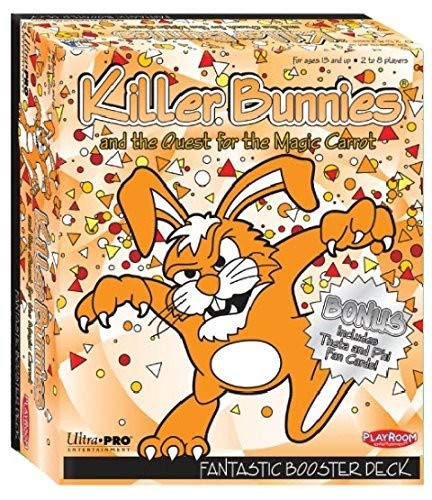 Playroom Entertainment Killer Bunnies Fantastic Booster Board Games