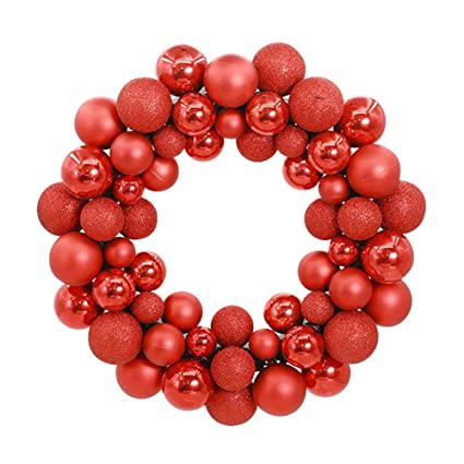 aimeart glittery christmas balls wreath garland ornaments christmas tree orbs mardi gras balls arcades small decorations