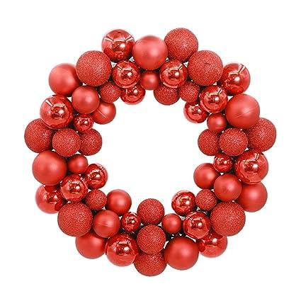 aimeart glittery christmas balls wreath garland ornaments christmas tree orbs mardi gras balls arcades small decorations - Small Christmas Decorations