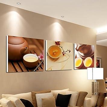 Cafe Malerei Schlafzimmer Restaurant Moderne Mode Home Triple Malerei (  Größe : A )